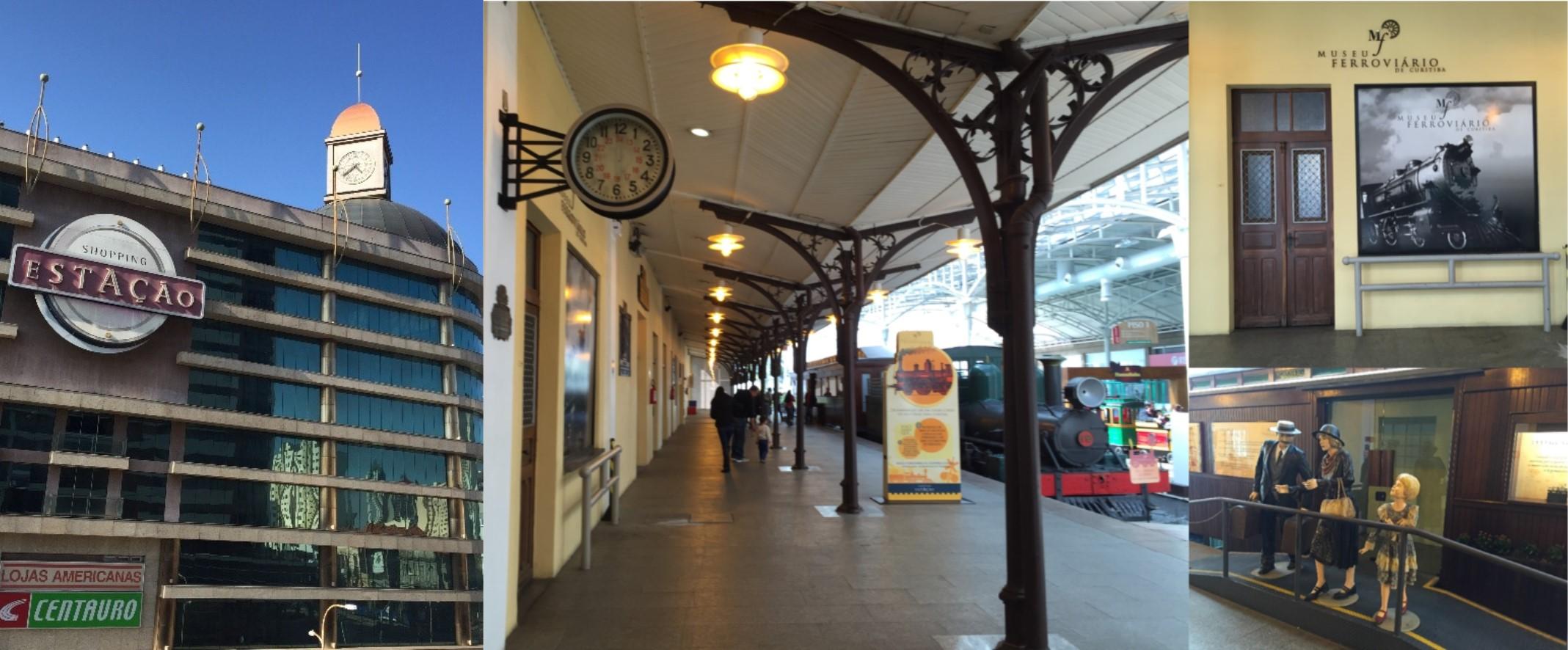 Shopping Estação and Museu Ferroviário