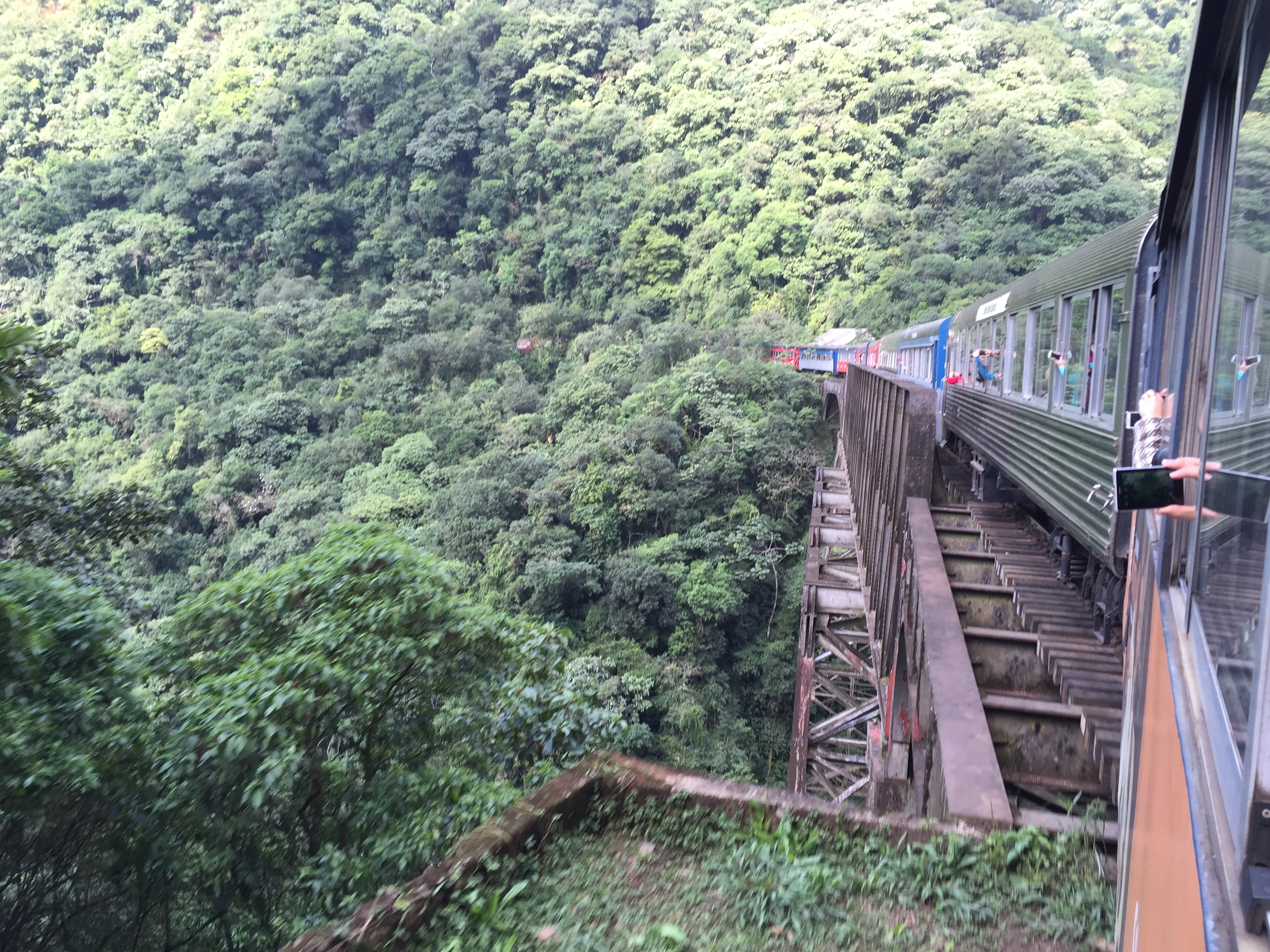 A day trip on the Serra Verde Express to Morretes