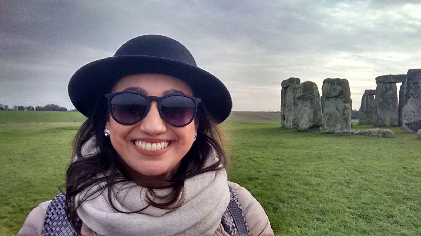 Eu fui pra Londres! Por Carol Linhares