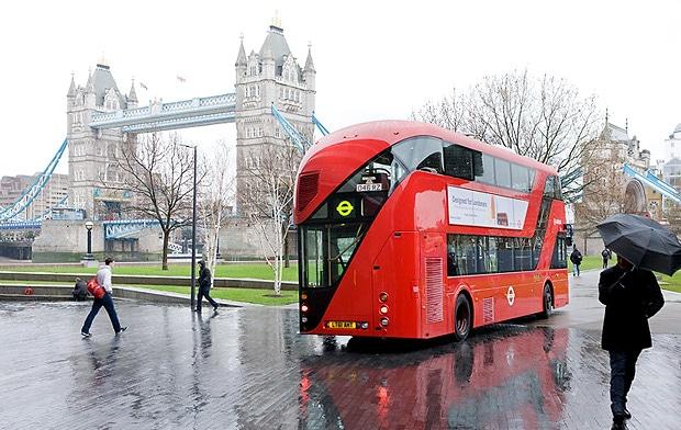 Rotas temáticas dos ônibus londrinos