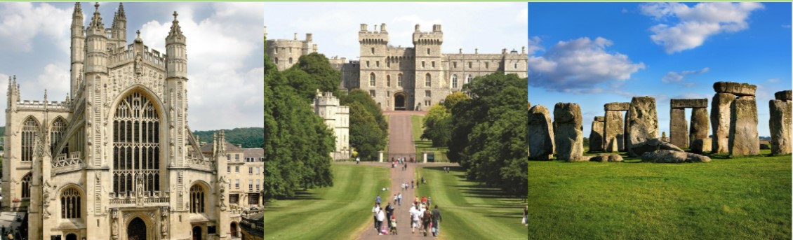 4 semanas de Inglês em Londres com visita a Windsor, Stonehenge e Bath